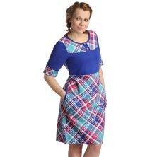 Платье арт. 16-0135 Синий