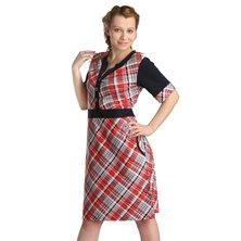 Жен. платье арт. 16-0127 Красный р. 50