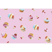 "Вафельное полотенце ""Сластена"" Кексы р. 50х60"