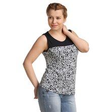 Жен. блуза арт. 16-0166 р. 46