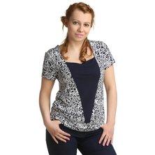 Жен. блуза арт. 16-0167 р. 48