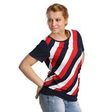 Блуза арт. 16-0172 Красный