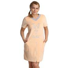 Жен. платье арт. 16-0211 Персиковый р. 44