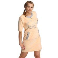 Платье арт. 16-0237 Персиковый