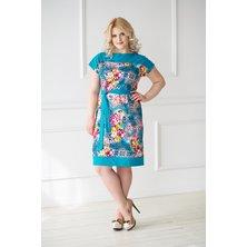 Платье арт. 19-0045 Изумрудный