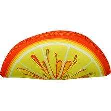 "Игрушка-подушка ""Долька апельсина"""