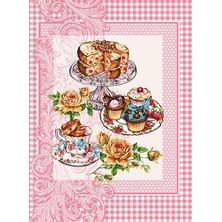 """Вафельное полотенце """"Десерт"""" р. 47х60"""