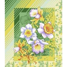 """Вафельное полотенце """"Утренние цветы"""" р. 50х60"""