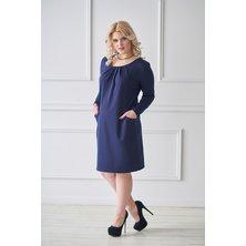 Платье арт. 19-0031 Синий