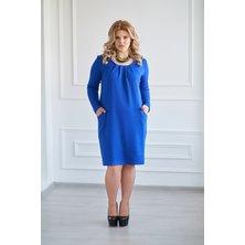 Платье арт. 19-0031 Васильковый