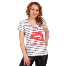 Жен. футболка арт. 16-0321 Серый р. 44