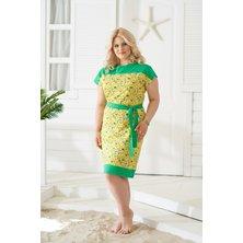 Платье арт. 19-0139 Желтый