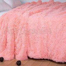 "Плед ""Шиншилла"" Розовый р. 160х220"