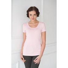 Жен. футболка арт. 19-0033 Розовый р. 42