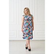Жен. платье арт. 19-0138 Бабочки р. 44