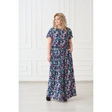 Жен. платье арт. 19-0140 Розочки р. 44