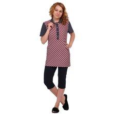 Блуза арт. 16-0346 Красный