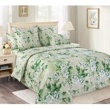 """Комплект постельного белья """"Белый сад"""" Зеленый"""