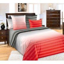 """Комплект постельного белья """"Туманное утро"""" Красный"""