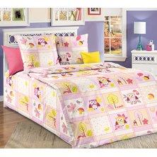 """Комплект постельного белья """"Дорис"""" Розовый"""