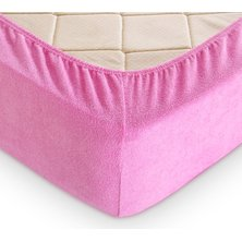 Простыня на резинке арт. 03-0763 Розовый