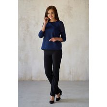 Блуза арт. 19-0182 Синий