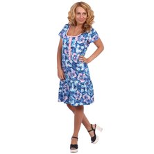 Жен. платье арт. 16-0396 Синий р. 46