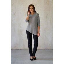 Блуза арт. 19-0181 Серый