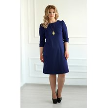 Платье арт. 19-0069 Темно-синий