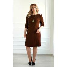 Платье арт. 19-0069 Шоколадный