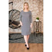 Платье арт. 19-0243 Серый