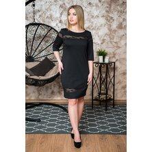 Платье арт. 19-0242 Черный