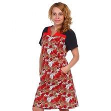 Платье арт. 16-0511 Красный