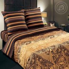 """Комплект постельного белья """"Арабика"""" + размеры с простыней на резинке"""