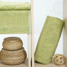 "Набор полотенец ""Бамбук"" Фисташка"