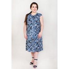 Платье арт. 19-0138 Индиго