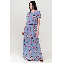 Платье арт. 19-0140 Голубой