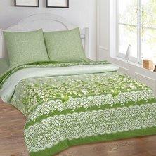 """Комплект постельного белья """"Душистый букет"""" Зеленый"""