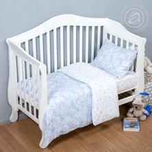 """Комплект постельного белья """"Звездочет"""" Голубой"""