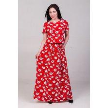 Платье арт. 19-0140 Красный