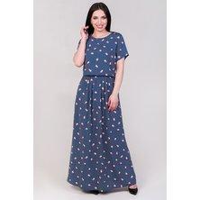 Платье арт. 19-0140 Синий