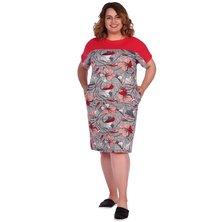 Платье арт. 16-0572 Красный