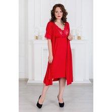 Сорочка арт. 19-0316 Красный
