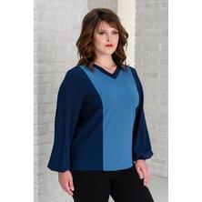 Блуза арт. 19-0321 Синий