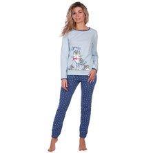 Пижама арт. 16-0661 Голубой