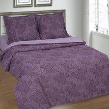 """Комплект постельного белья """"Вирджиния"""" Фиолетовый + размеры с простыней на резинке"""