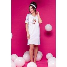 Платье арт. 19-0398 Белый