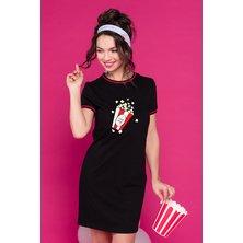 Платье арт. 19-0397 Черный