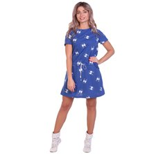 Платье арт. 16-0694 Синий