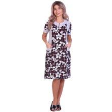 Платье арт. 16-0692 Бордовый